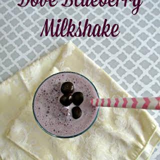 Dove Blueberry Milkshake.