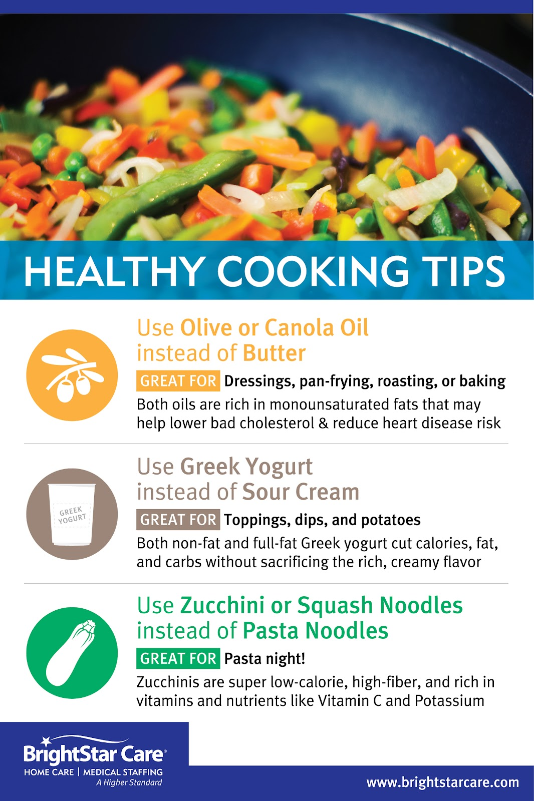 Healthy Cooking Tips for Seniors