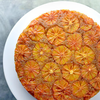 Blood Orange Thyme Upside Down Cake.
