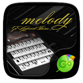Melody Keyboard Theme &Emoji