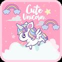 Cute Unicorn 🦄 Wallpaper icon