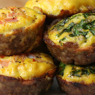 Low-Carb Sausage And Egg Breakfast Cups.