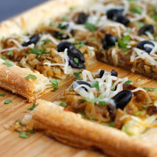 Caramelized Onion and Fennel Tart