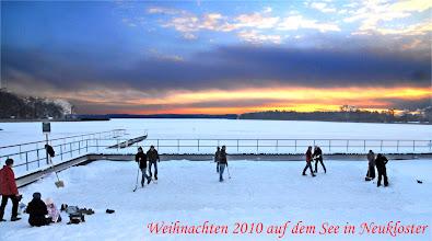Photo: Weihnachten auf dem See in Neukloster