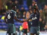 Serge Aurier van Tottenham miste de topper tegen Manchester United door een opmerkelijk incident
