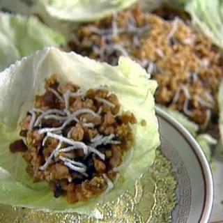 Minced Chicken in Lettuce Cups ► Recipe