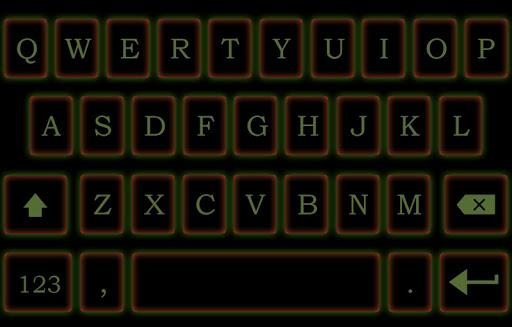 Neon Emoji Keyboard Emoticons