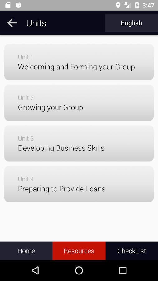 Self Help Group App- screenshot