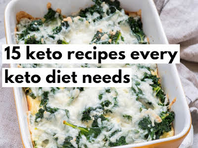 15 Keto Recipes Every Keto Diet Needs