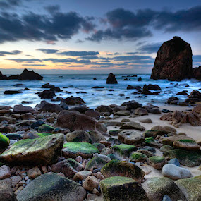 Lost Land by Hugo Marques - Landscapes Waterscapes ( waterscape, sunset, seascape, ursa )