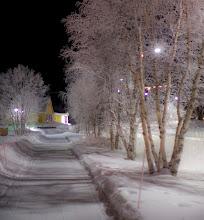 Photo: Hetan kylänraittia