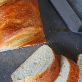 Soft and Chewy French Bread.
