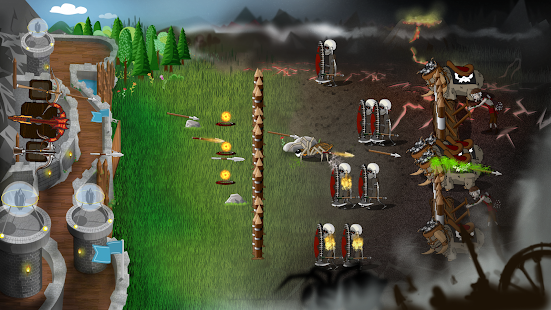 ApkMod1.Com Grim Defender Castle & Tower Defense + Mod (a lot of money) for Android Game Strategy