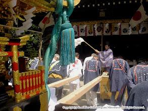 Photo: 【平成16年(2004) 本宮】 安全祈願のお祓い。