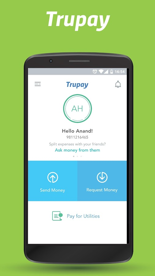 UPI Money Transfer – Trupay- screenshot