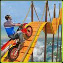 Bike Tricks Trail Stunt Master -Impossible Tracks icon
