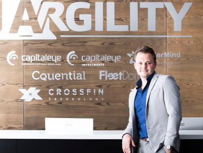Marko Salic, CEO of the Argility Technology Group
