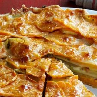 Apple and Sweet Potato Tart