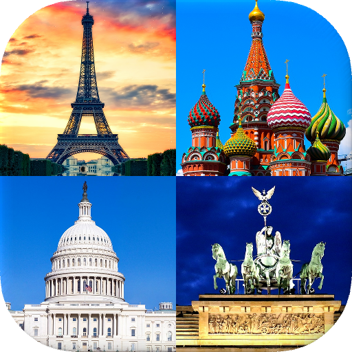 Capitals of All Countries in the World: City Quiz Icon