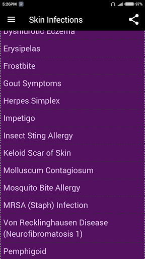 Skin Infections 3.1 screenshots 3