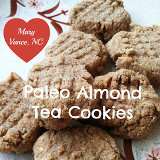 Paleo Almond Tea Cookies.
