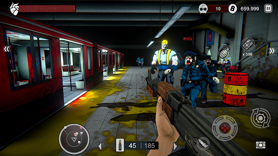 Zombie Conspiracy Shooter 0.200.4 MOD (Unlimited Money) APK For Android - 12 - images: Download APK free online downloader | Download24h.Net