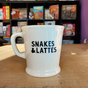 Snakes&Lattes Coffee Cup