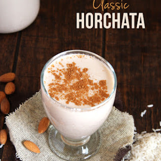 Horchata + Horchata Iced Latte (Fiesta Fridays) Recipe