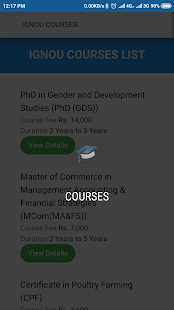 Ignou Course Finder for PC-Windows 7,8,10 and Mac apk screenshot 2