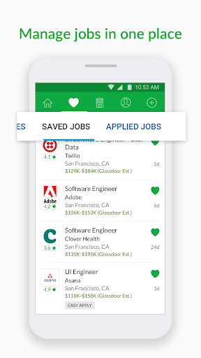 Glassdoor Job Search, Salaries & Reviews  screenshots 4