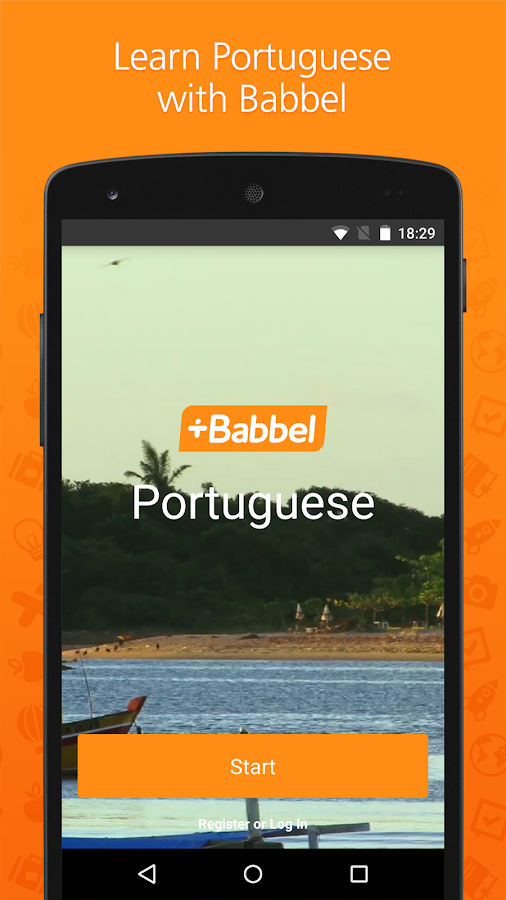 Learn Portuguese with Babbel- screenshot