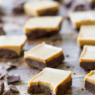 Salted Caramel Mocha Fudge {Paleo & Vegan}