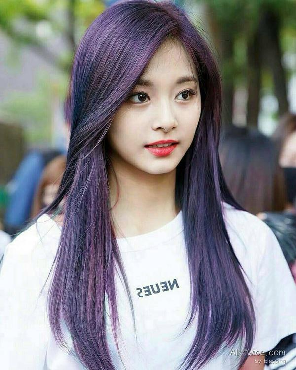 twice tzuyu purple