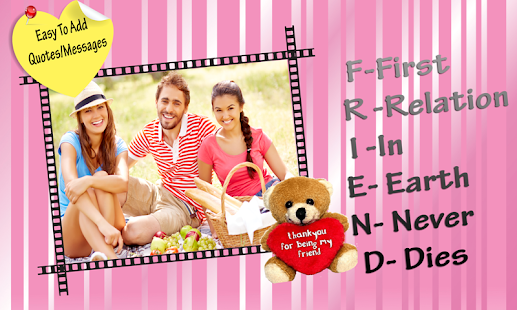 Friendship Photo Frames - Android Apps on Google Play
