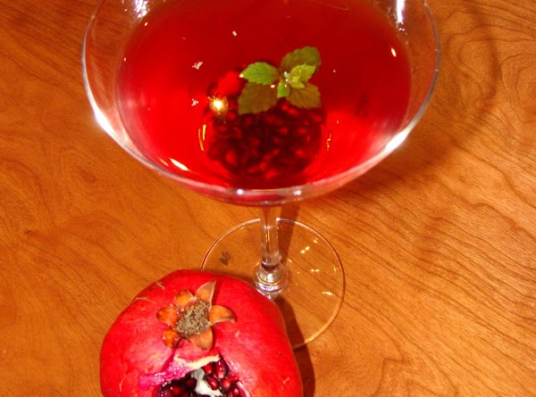 Pomegranate makes great cocktails and you can add more sugar later.