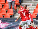 Michel-Ange Balikwisha aux anges après son premier but avec le Standard de Liège