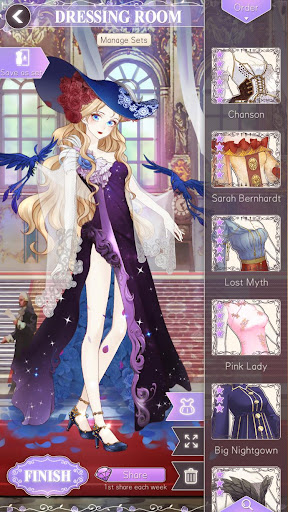Helix Waltz - Dress Up Drama - screenshot