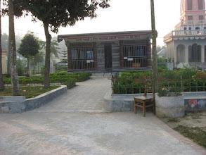 Photo: Memorial Temple of Sri Mahanambrata Brahmachari founded in 2004 on his birth centenary in Sri-Angan premises