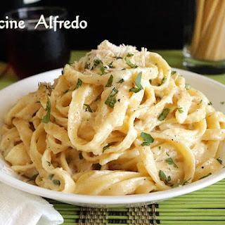Creamy Fettuccine Alfredo