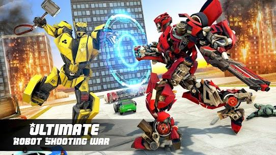 Submarine Robot Transform War: Robot Hero Games 5