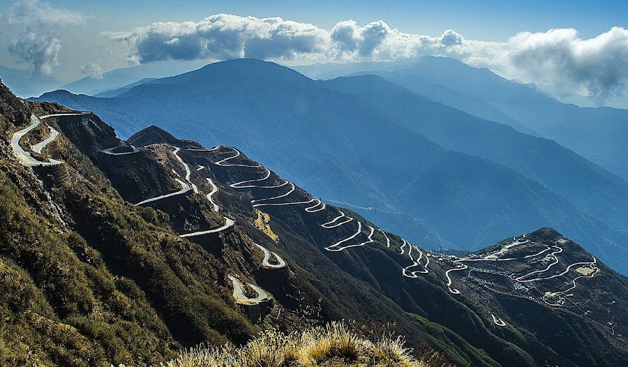 Silk Route, Sikkim by Kunal Karmakar - Landscapes Mountains & Hills ( pwcpaths )