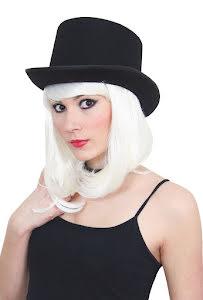Hög hatt, svart