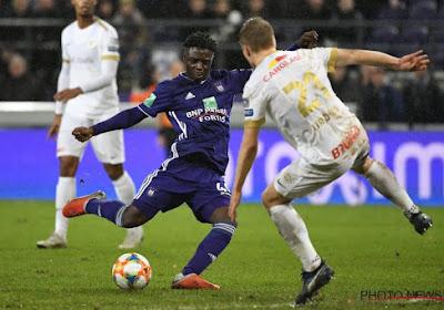 Les détails du contrat du jeune Doku à Anderlecht