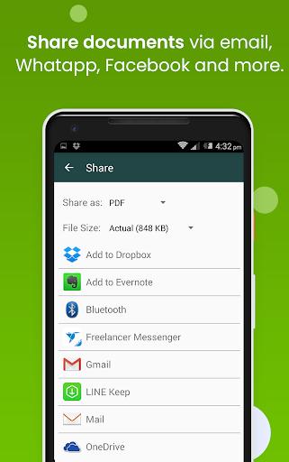Clear Scan: Free Document Scanner App,PDF Scanning screenshot 5