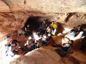 Photo: Trekking y mates en Cueva del Lago de Ullúm