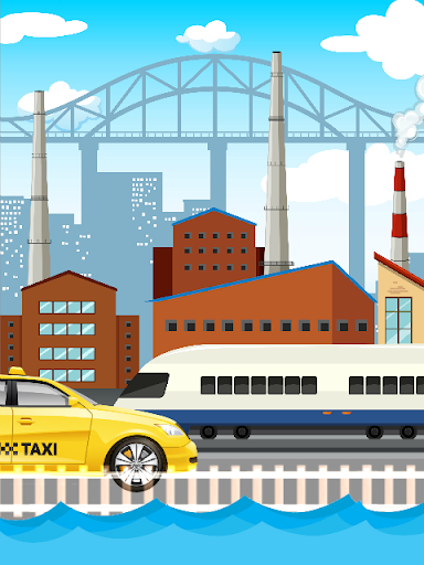 Crazy Train & Taxi in the City Rush Hour 1.0.0 screenshots 2