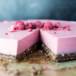 Raspberry, Lime and Coconut Cheesecake Recipe