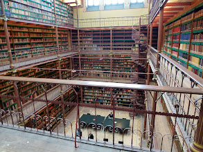 Photo: Gorgeous library in the Rijksmuseum