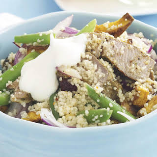 Couscous with Lamb and Squash.