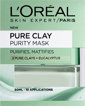L Oreal Paris Pure Clay Purity Face Mask - 50ml